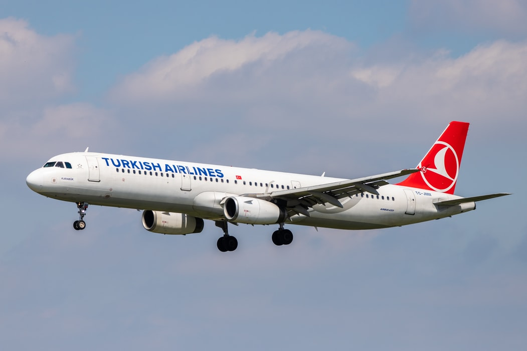 Image of a Turkish Airline