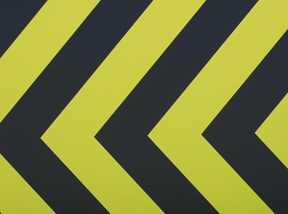 black and yellow chevron wallpaper