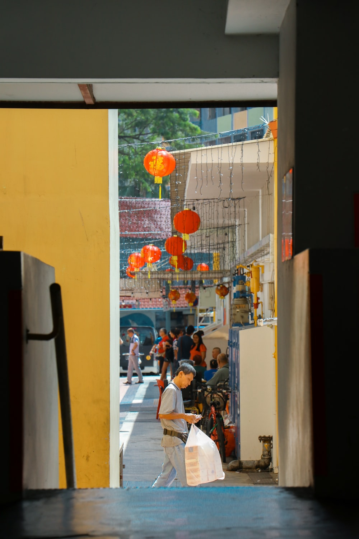 orange lantern lot