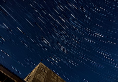 The stars trail shot in my home :)