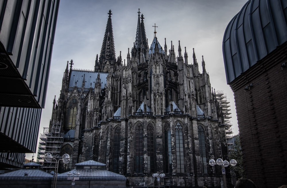 gray and brown concrete cathedral