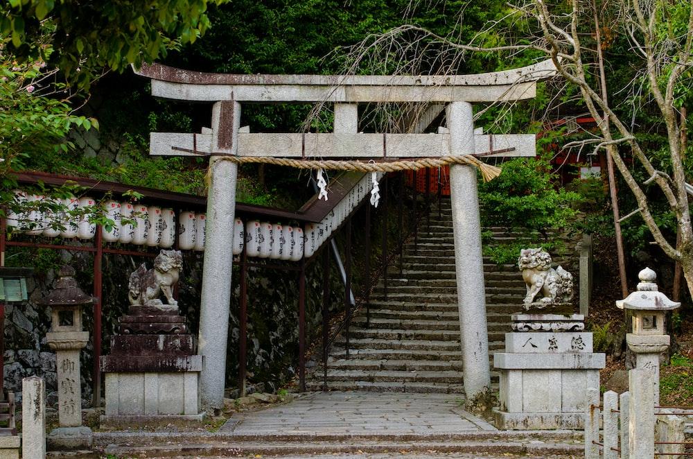 gray temple