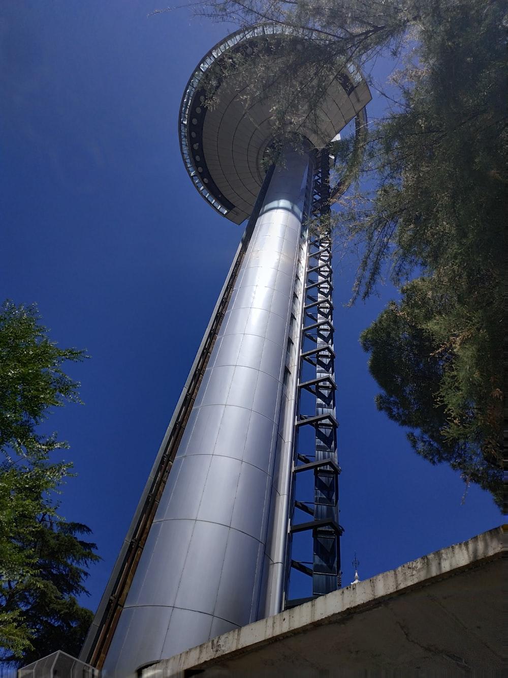 grey concrete tower