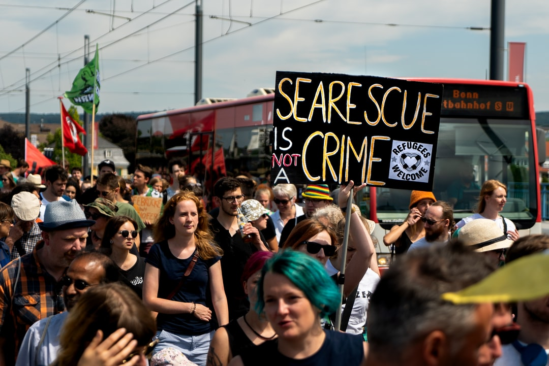 Sea Rescue is not a crime!