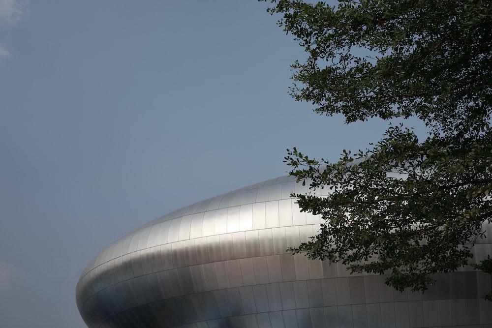 gray metal building during daytime