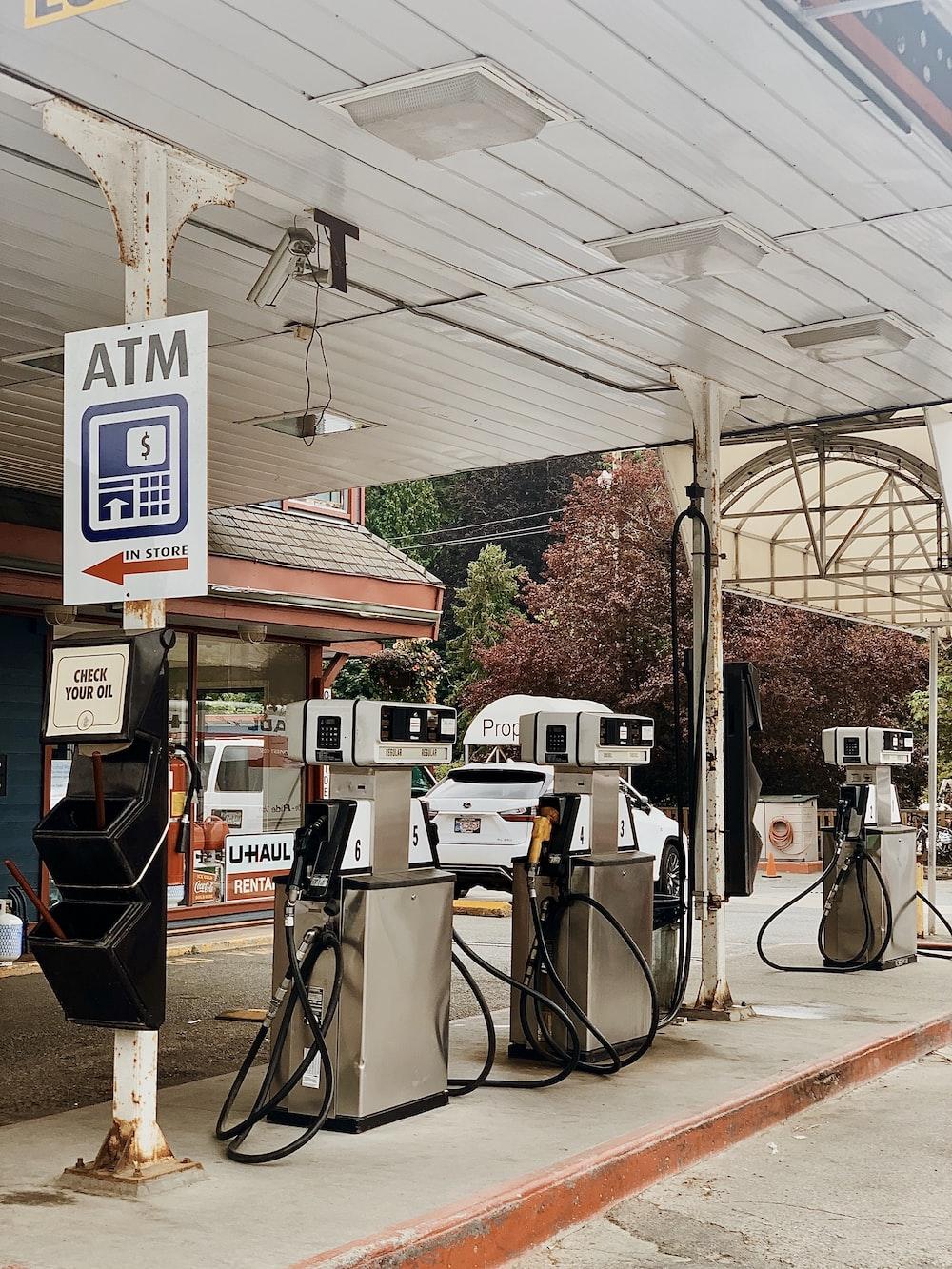 ATM signage near machines