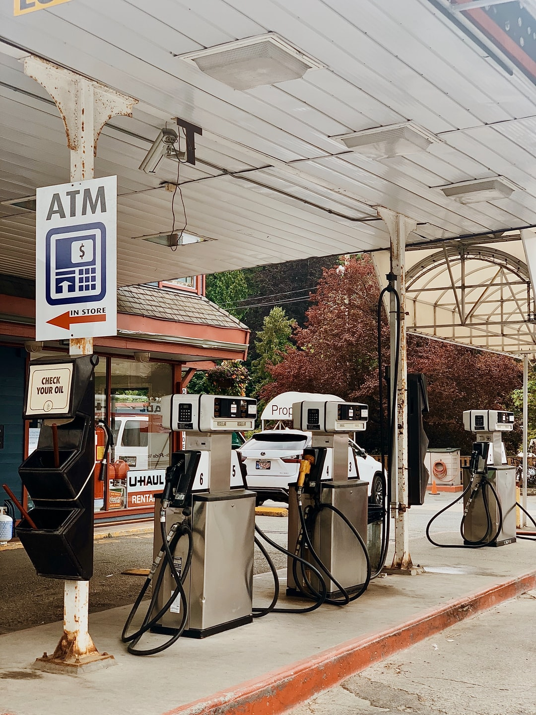 This gas station reminds me of a simpler time. When people drove Mercurys and drank Coca-Colas that were only 5 cents.