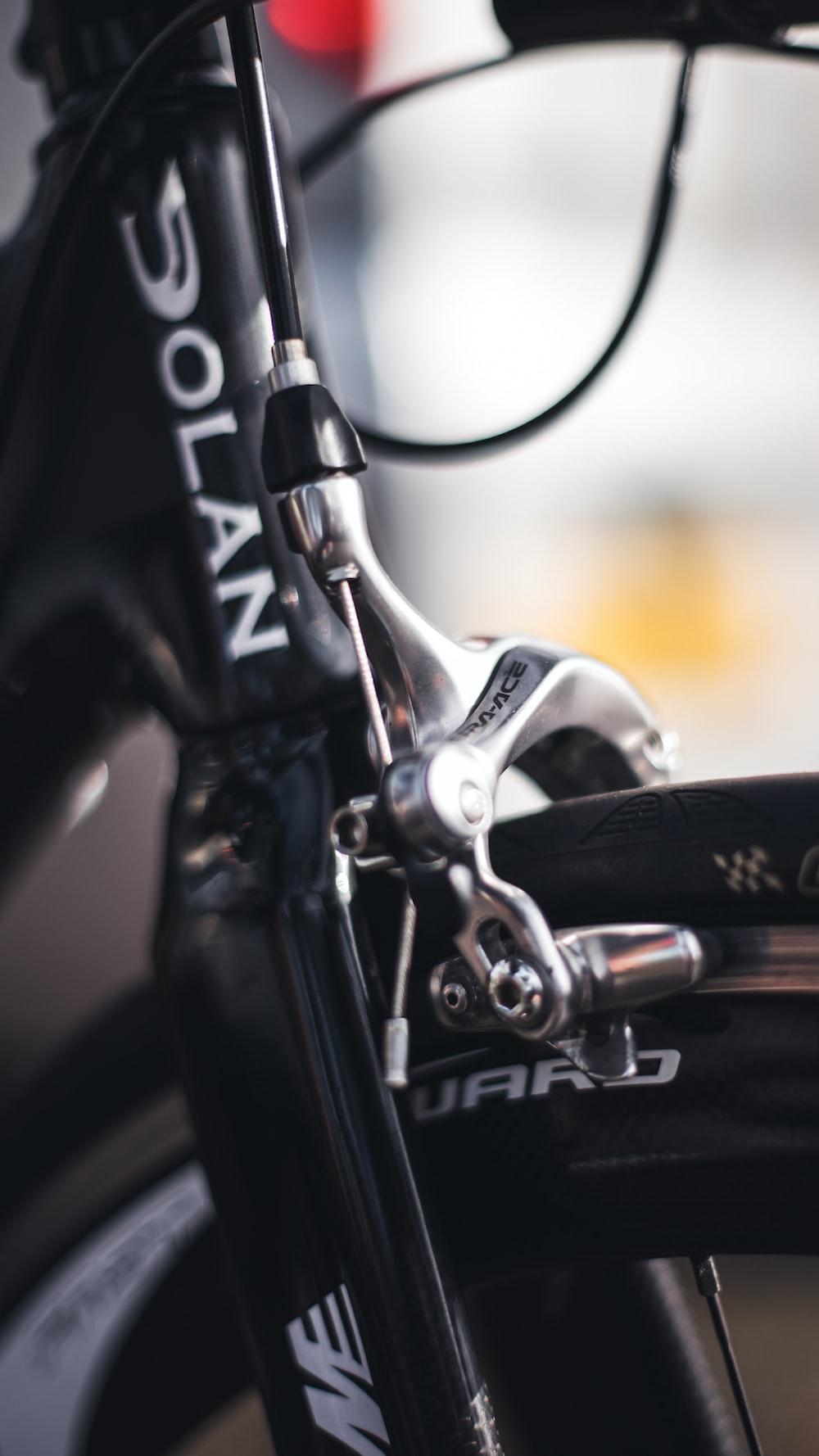 black and white Dolan bike