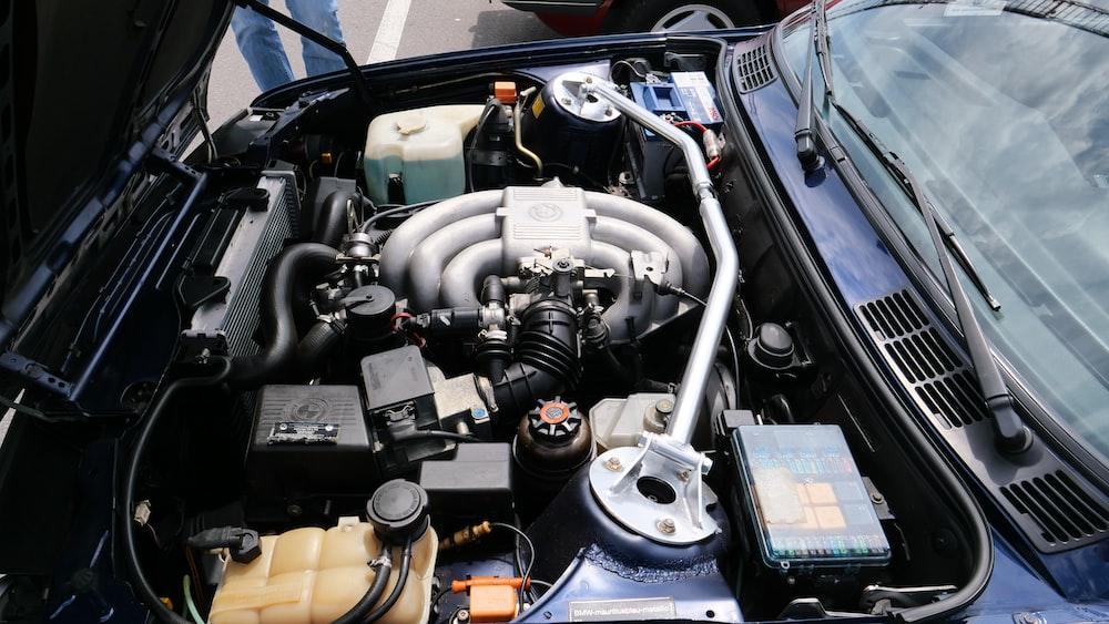 vehicle engine bay