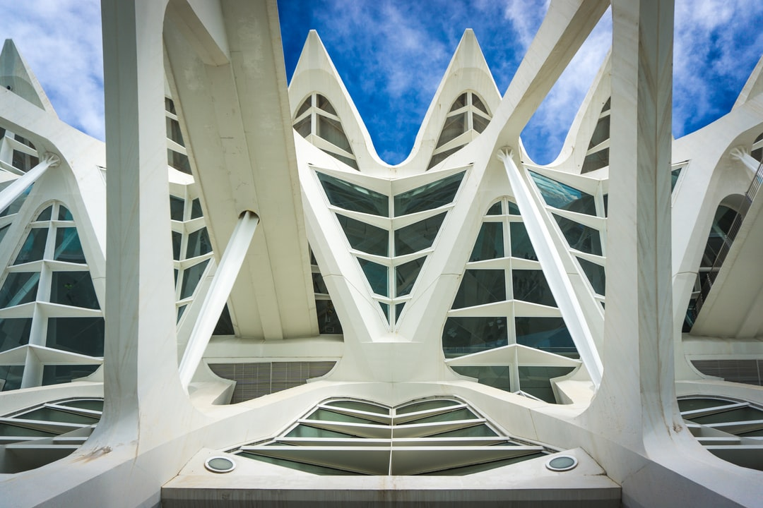 Structural close-up of Príncipe Felipe Science Museum