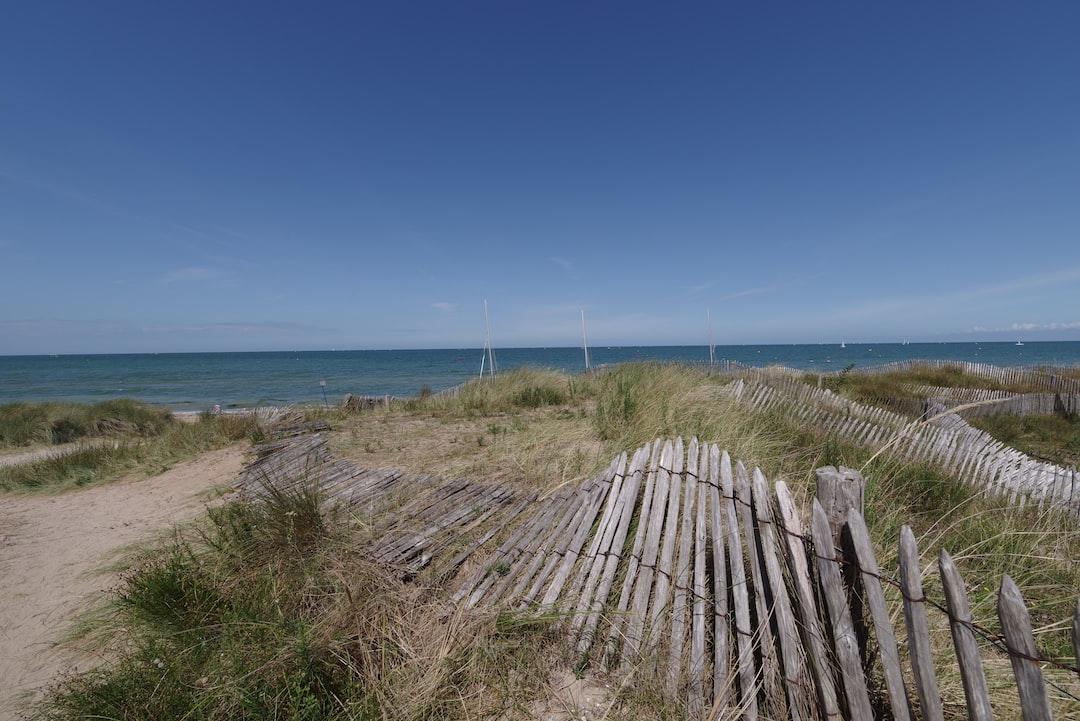 Normandy dunes - Juno Beach at Courseulles-sur-Mer