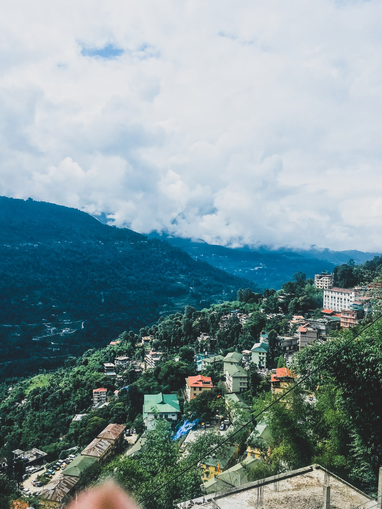 Shillong, the capital of Meghalaya, The Dzükou valley, one of the seven sister states