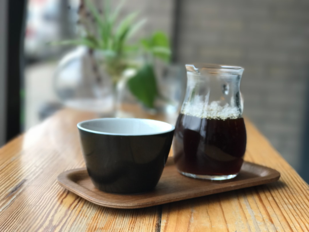 Coffee in a Glass Carafe