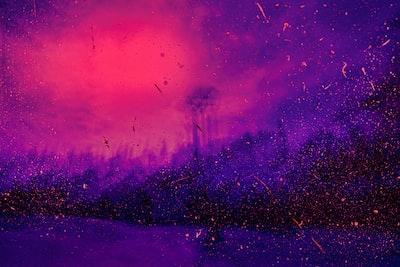 purple wallpaper pointillism zoom background