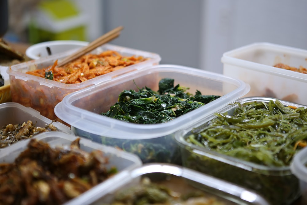 variety of cooked foods