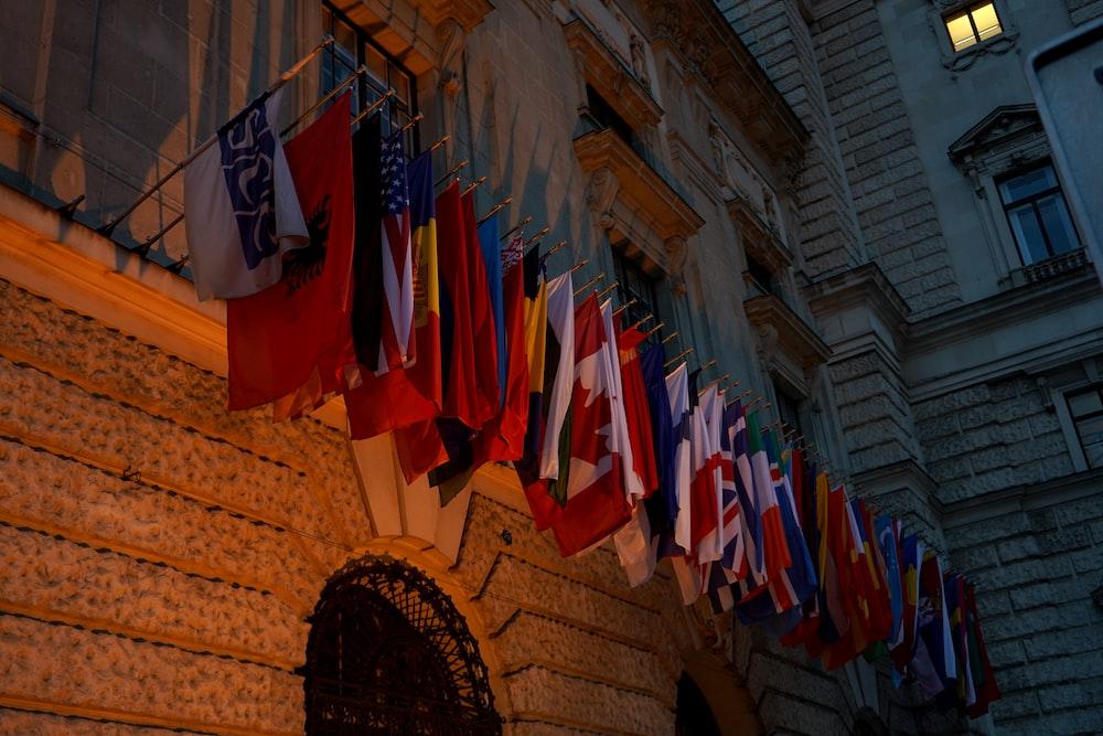 assorted flag lot