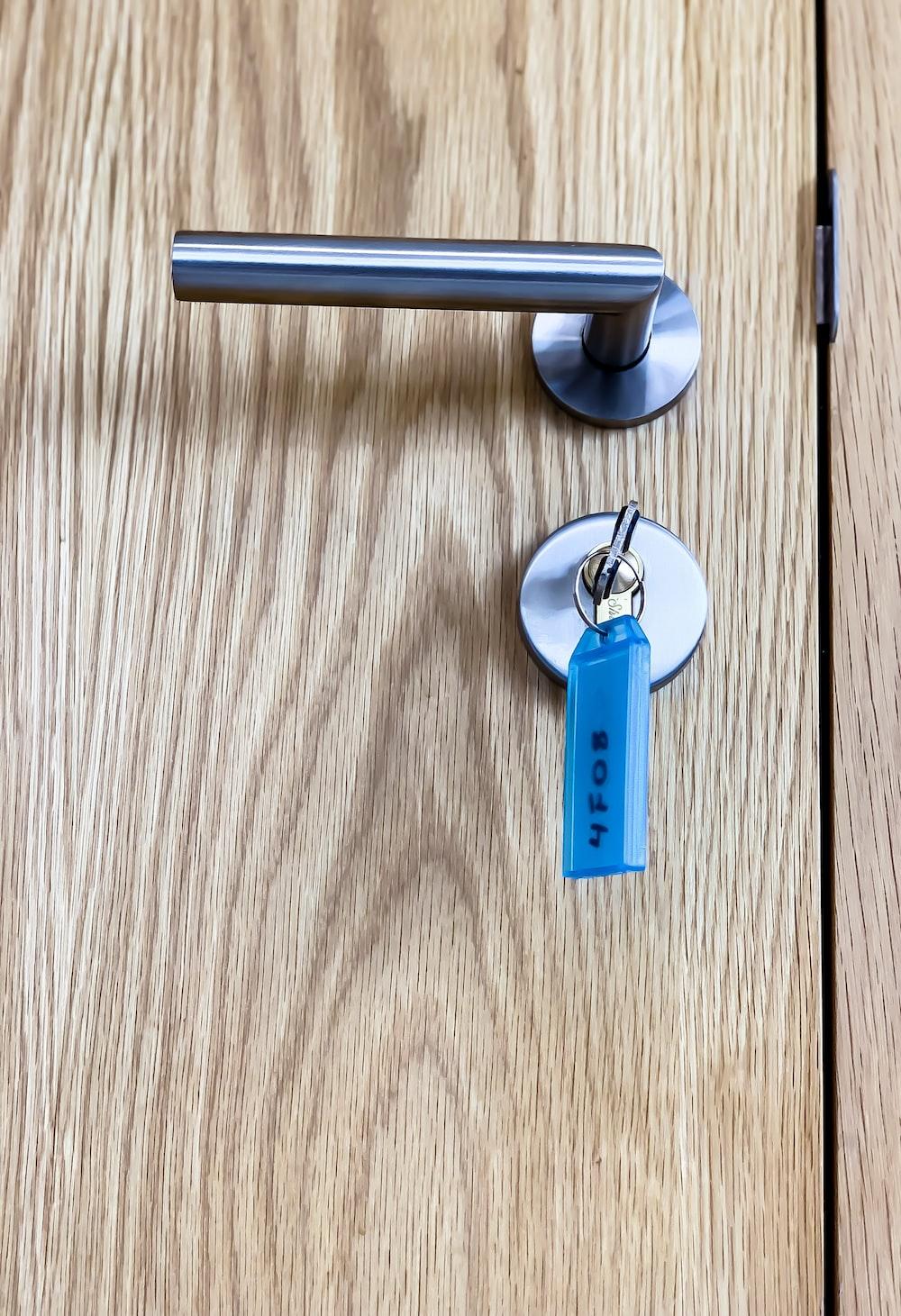 grey door knob