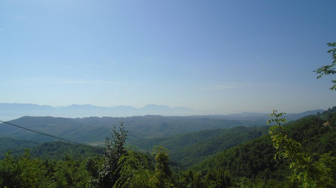 Shkafane Area, Near Durres, Albania