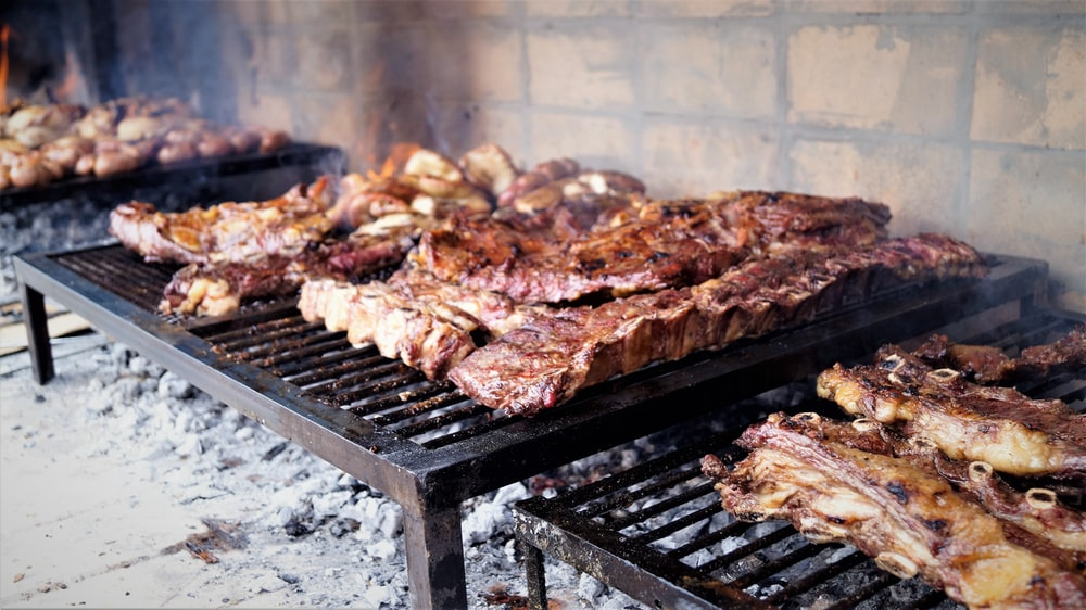 close-up photo of grilled meat