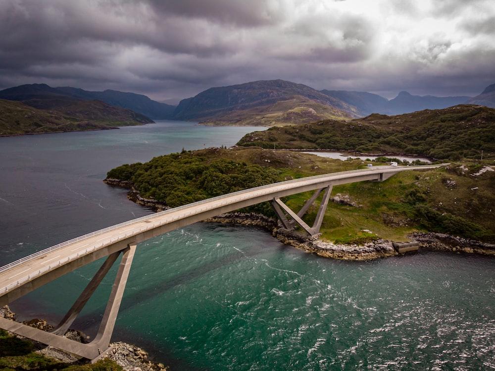 bridge on ocean