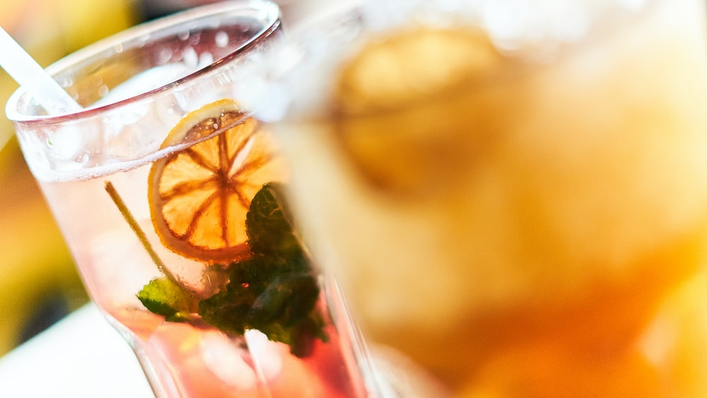 close-up photo of lemon juice