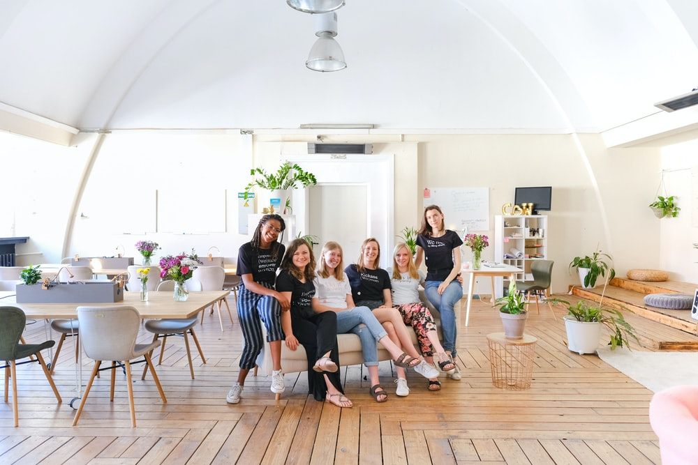 group of person sitting indoors