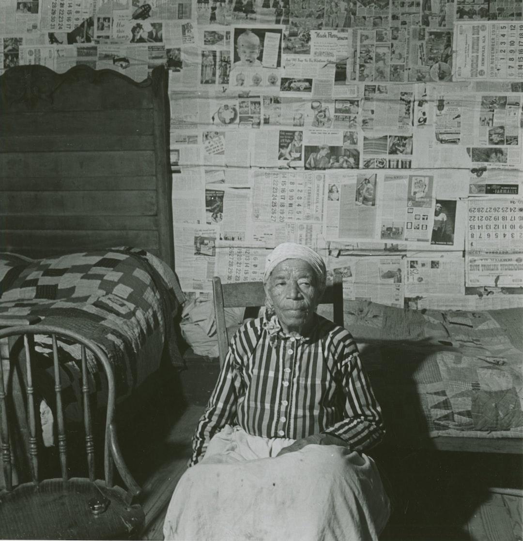1941 - Mulatto ex-slave in her house near Greensboro, Alabama.