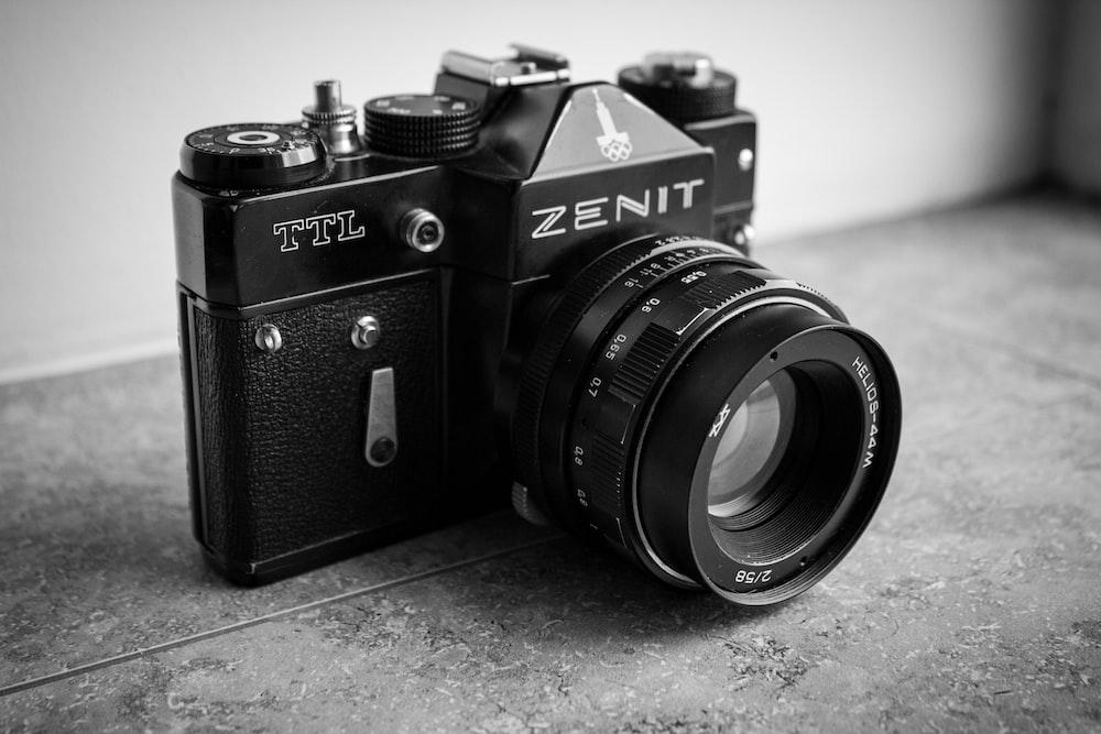 black Zenit camera