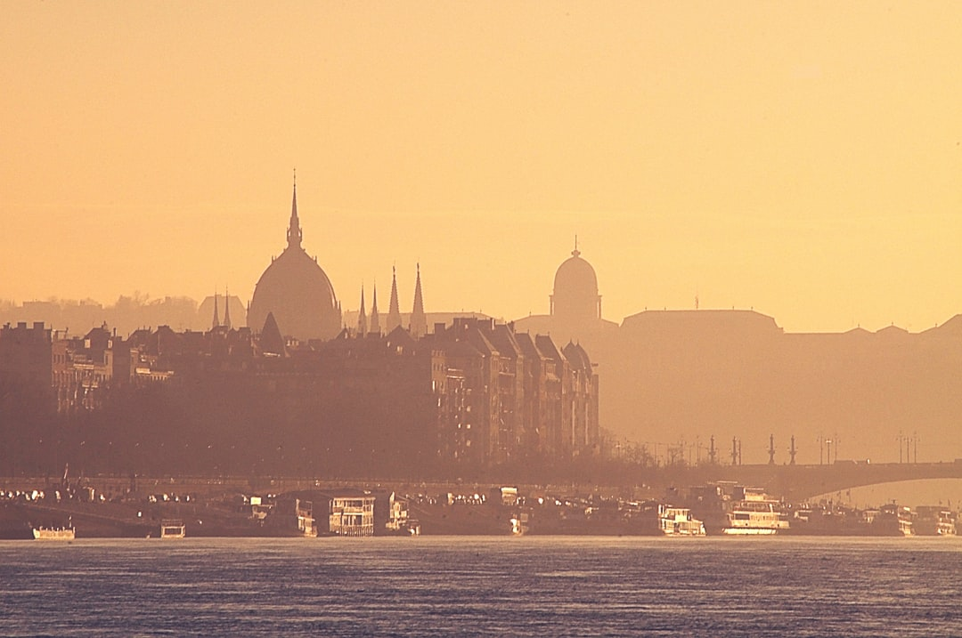 Silhouette of Budapest
