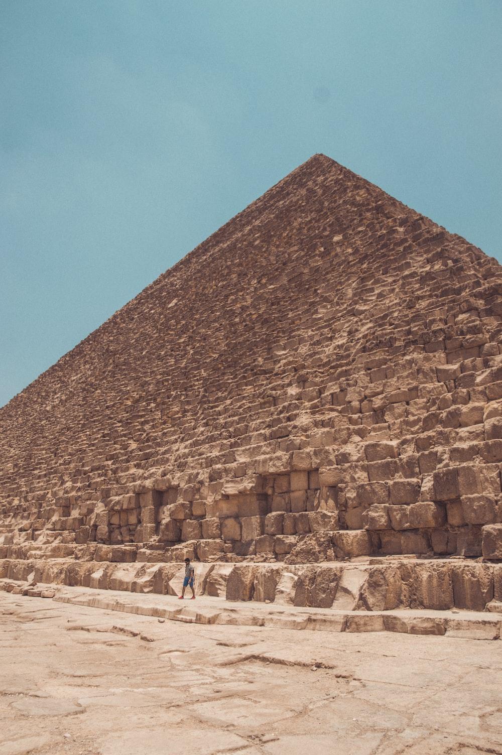 brown pyramid during daytime