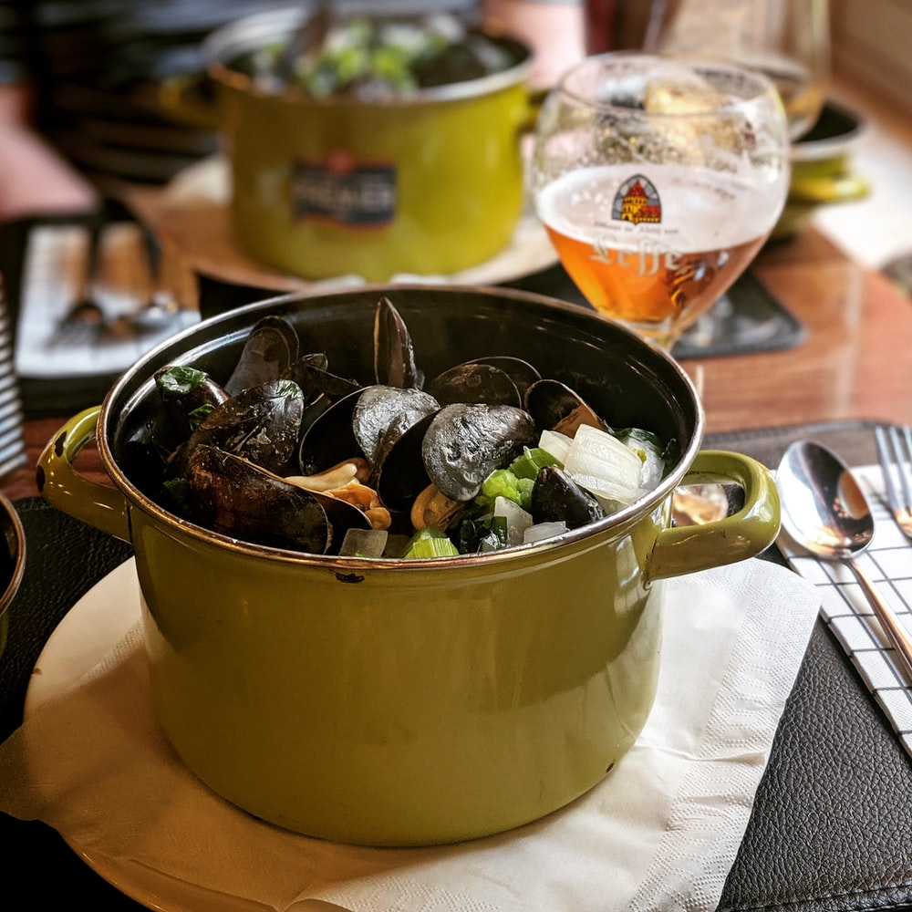 Moule frites in toulouse