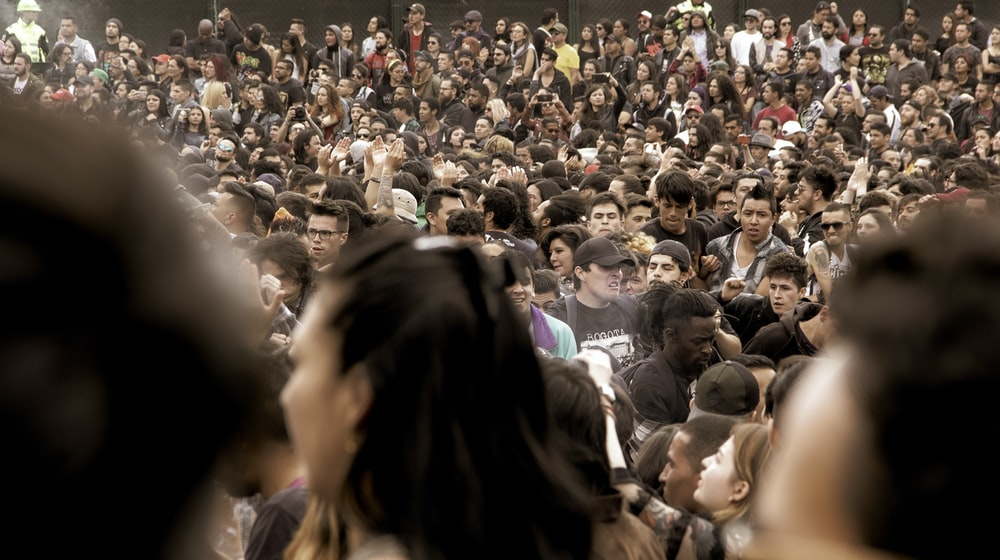 people standing during daytime