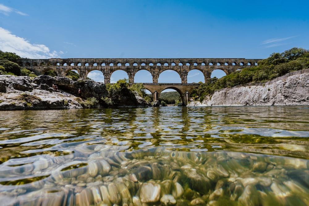 bridge under blue sky during daytime