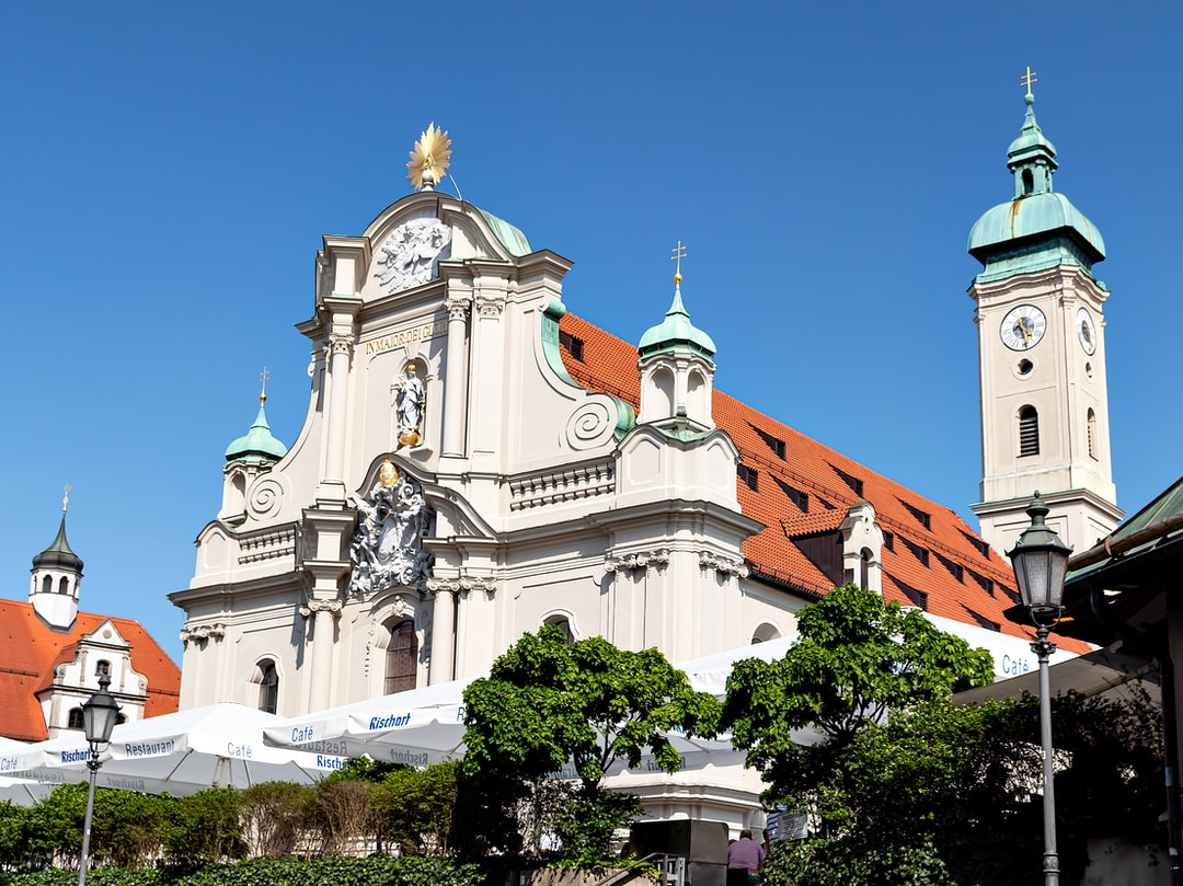 This is the Holy Ghost Church near the Marienplatz.