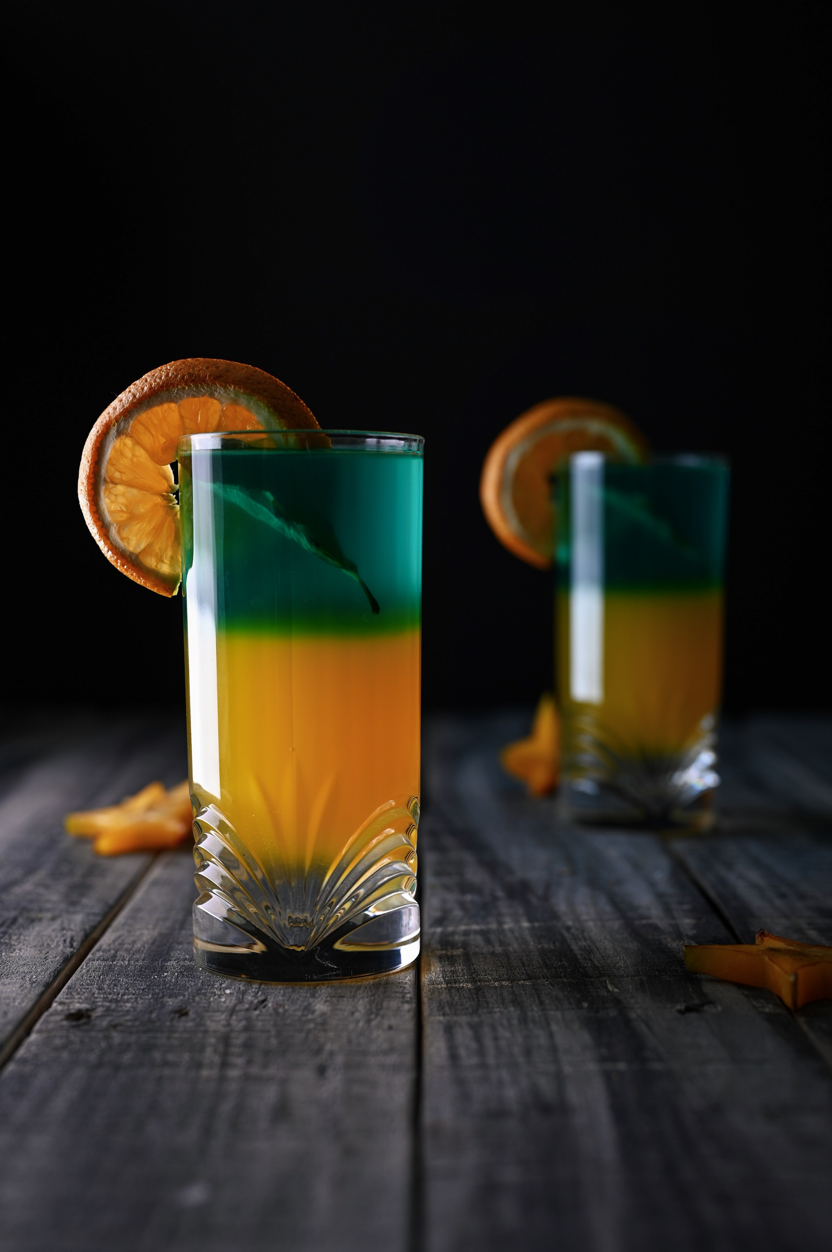 Gallery Image 15 - Orange and blue cocktail