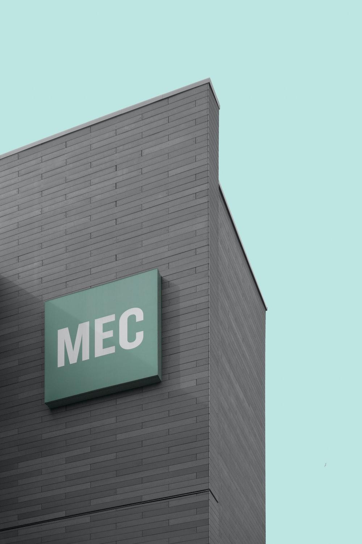 MEC signage