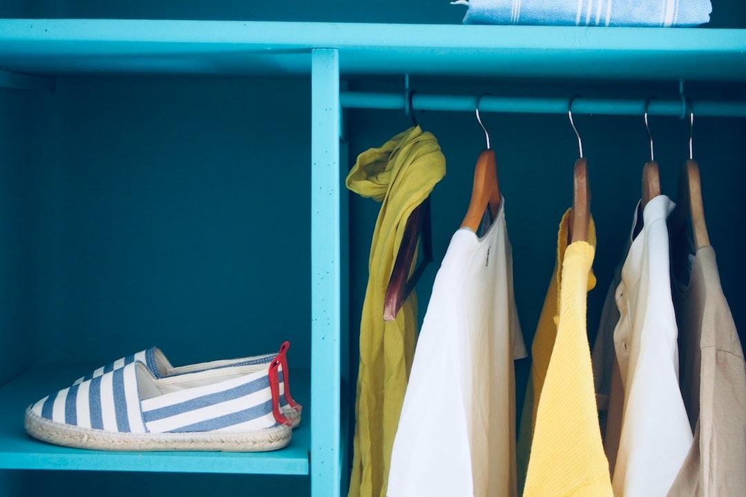 Cool summer closet