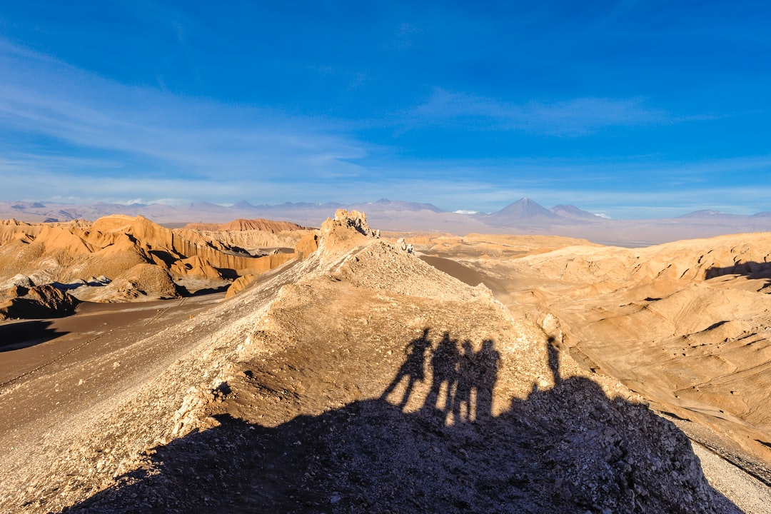 Sunset in the Atacama Desert, Chile