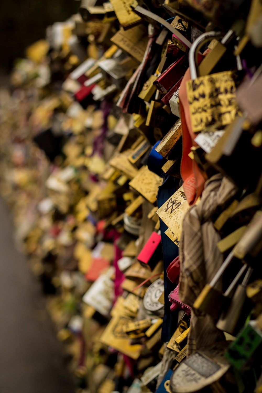 assorted locks