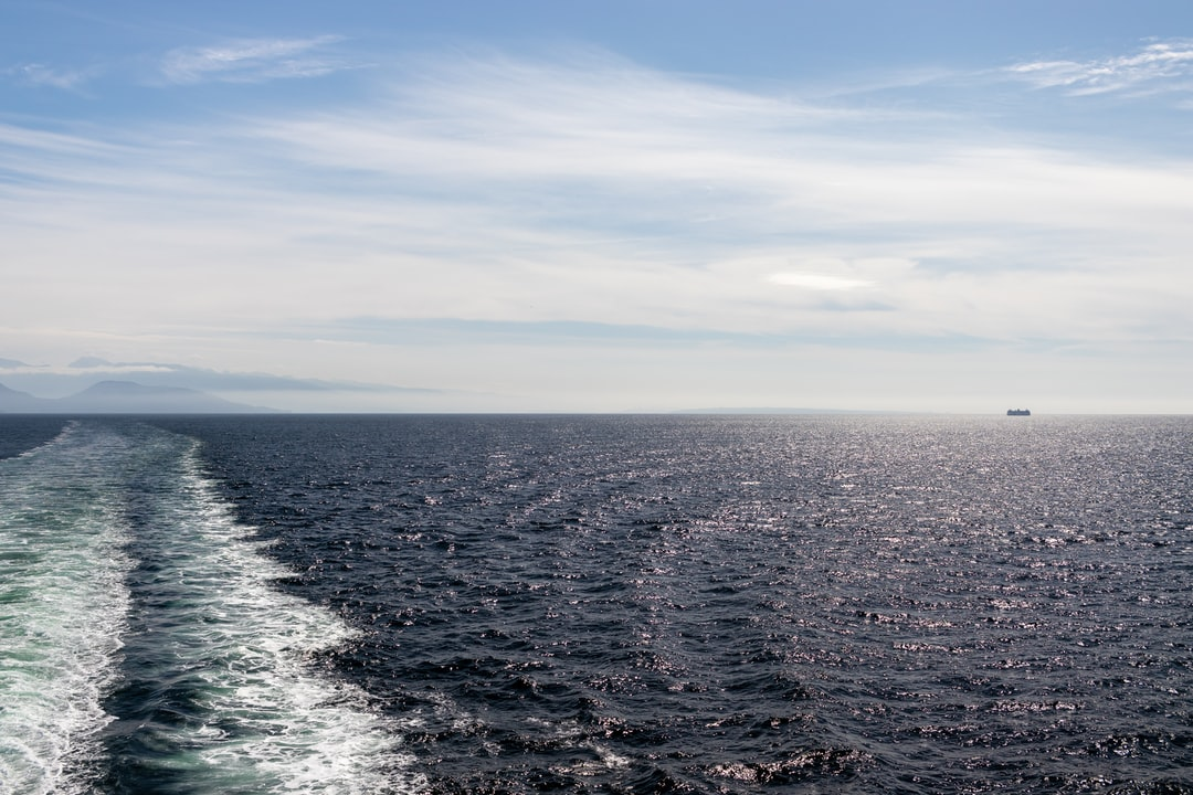 A shot from the back end of the ferry during a recent vacation to Vancouver island