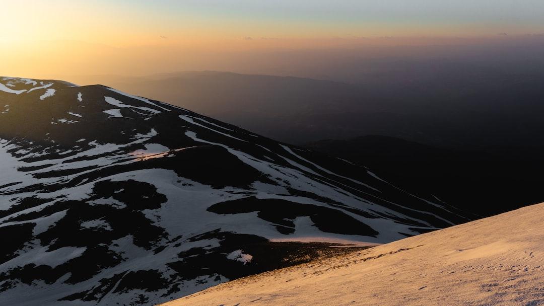Golden hour on peak klisertzik 1996m of mountain falakro last march.