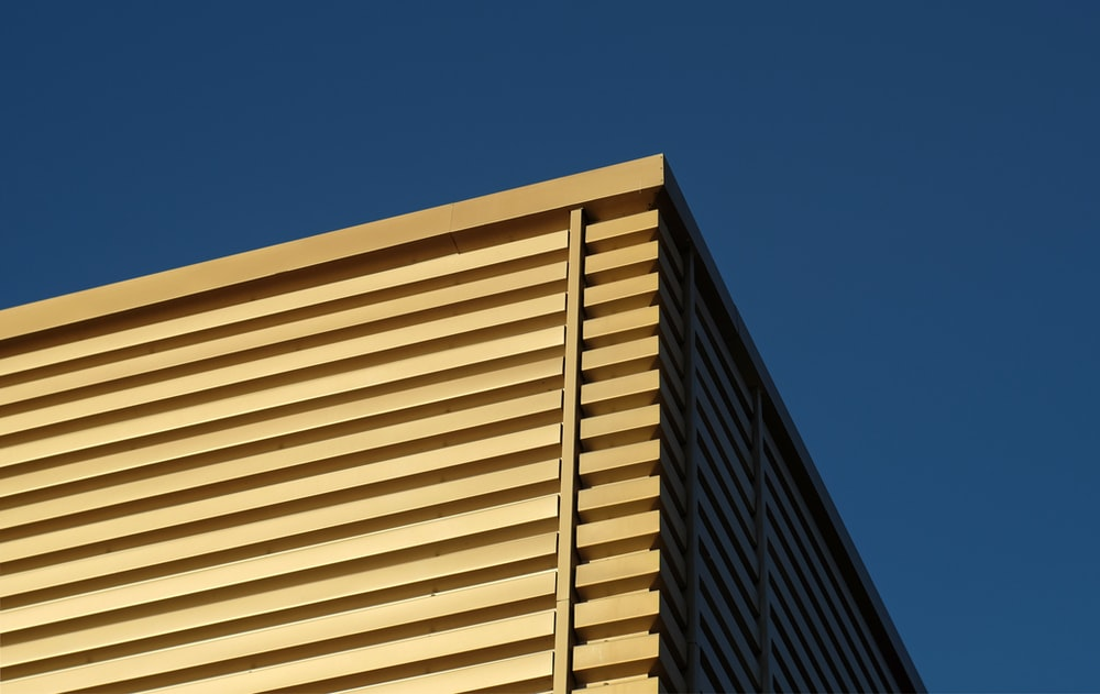 low-angle photography of building facade