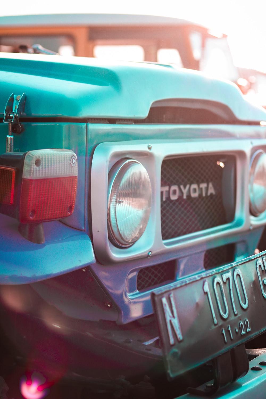 green Toyota vehicle