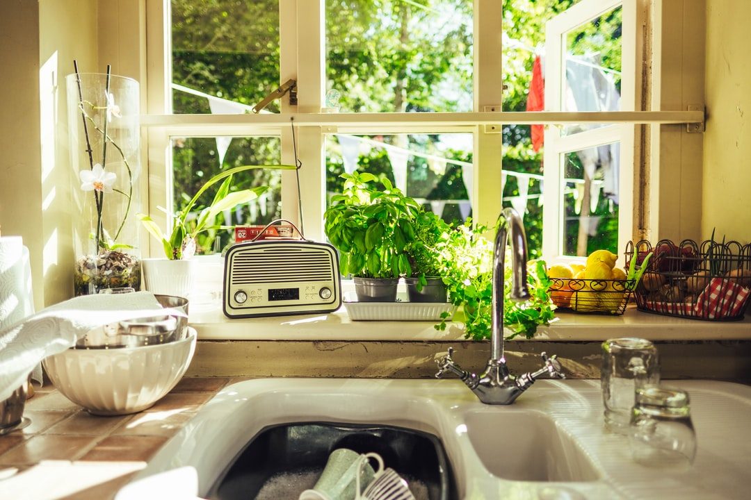An English country kitchen