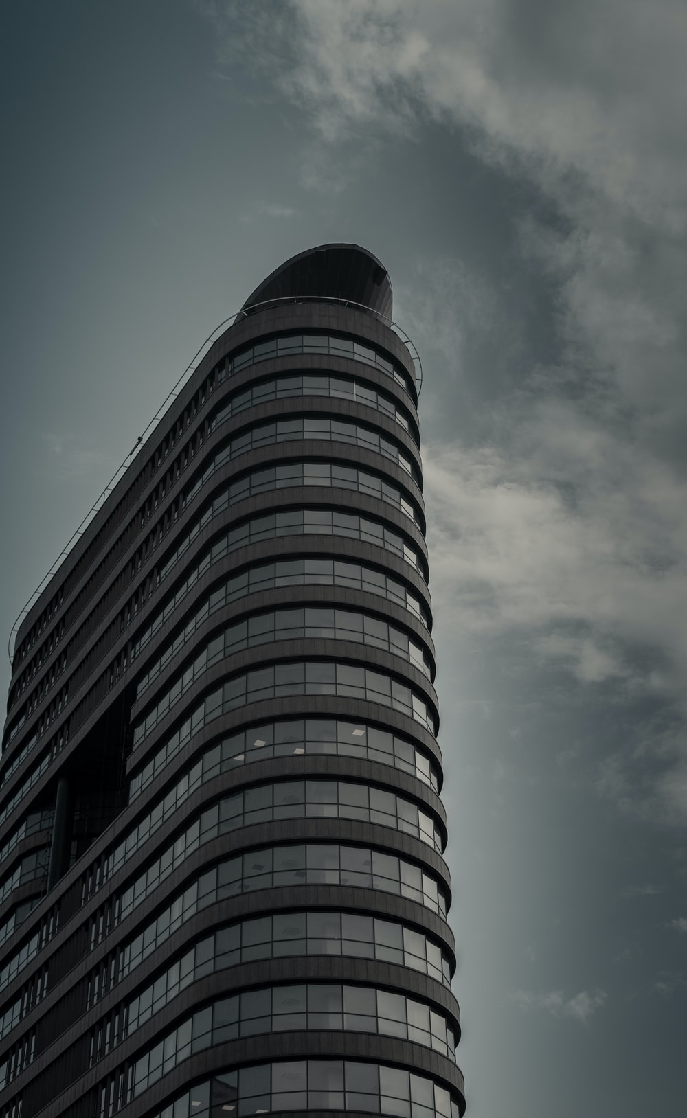 grey high rise building