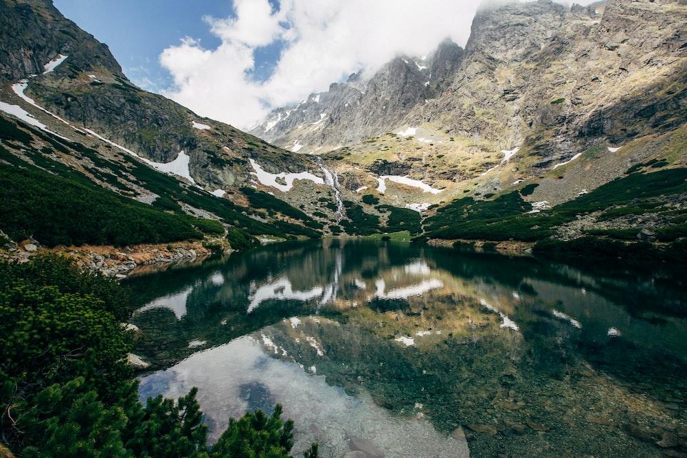 landscape photo of a lake
