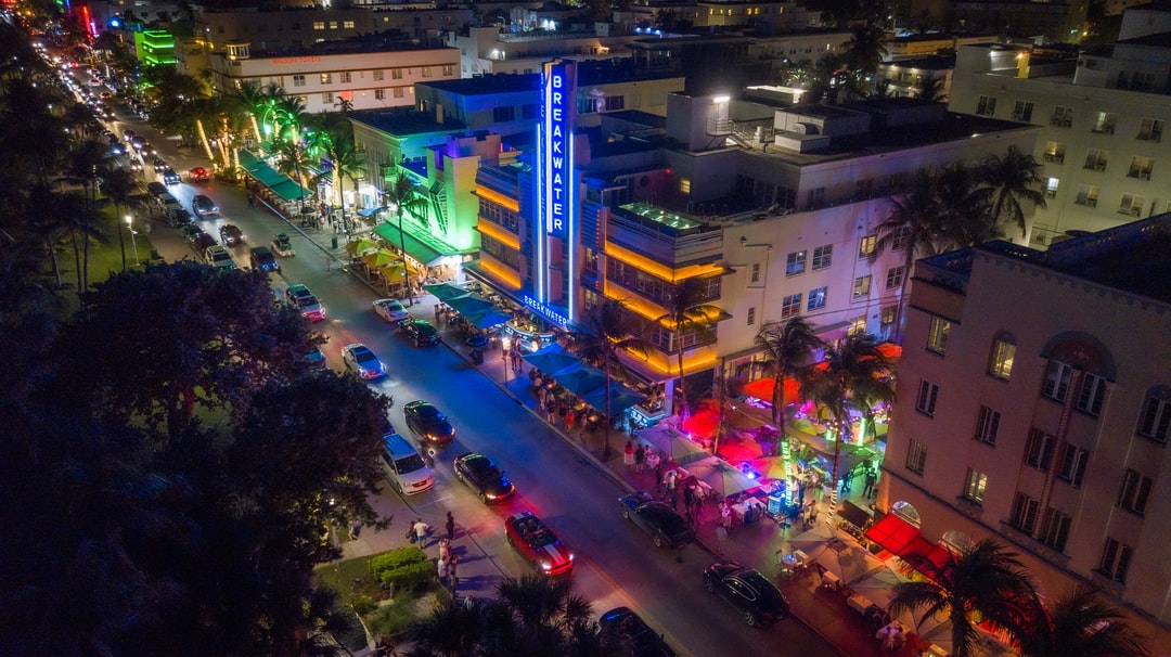 Ocean Drive Miami South Beach Nightlife