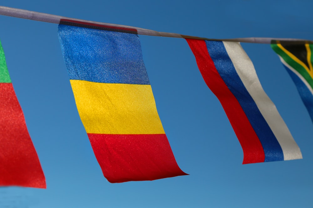 assorted flags