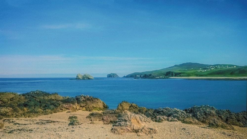 panorama island and ocean