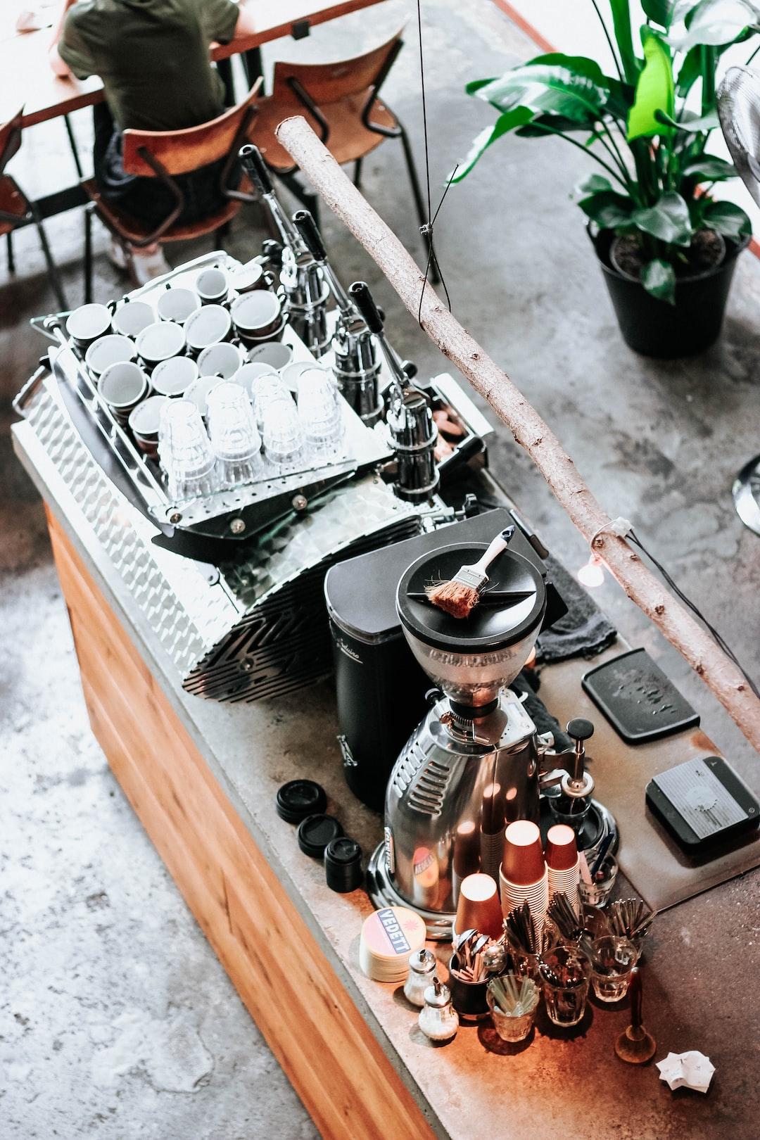 Coffee café in Rotterdam